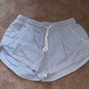 billabong flowy shorts